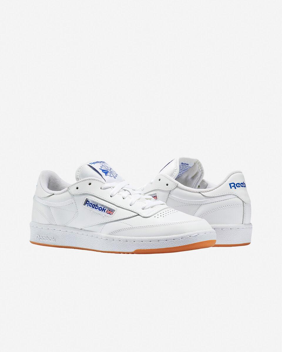 Scarpe sneakers REEBOK CLUB C 85 M S4034170 scatto 1