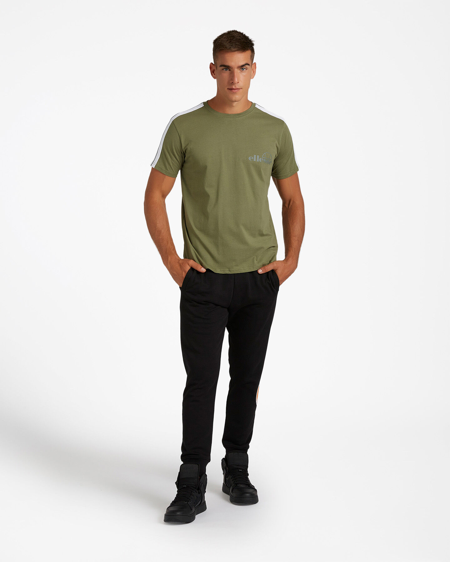 T-Shirt ELLESSE JET STRIPES M S4082140 scatto 1