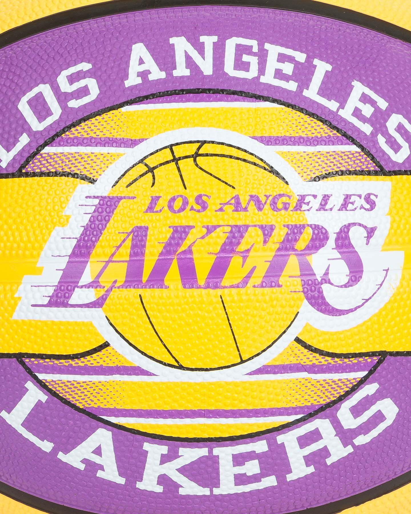 Pallone basket SPALDING LAKERS NBA TEAM SZ.7 S2006559|UNI|UNI scatto 2
