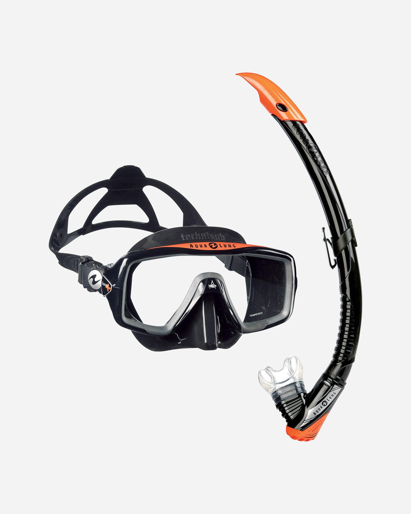 Kit snorkeling AQUALUNG SPORT VENTURA+ S1237300|101|UNI scatto 0