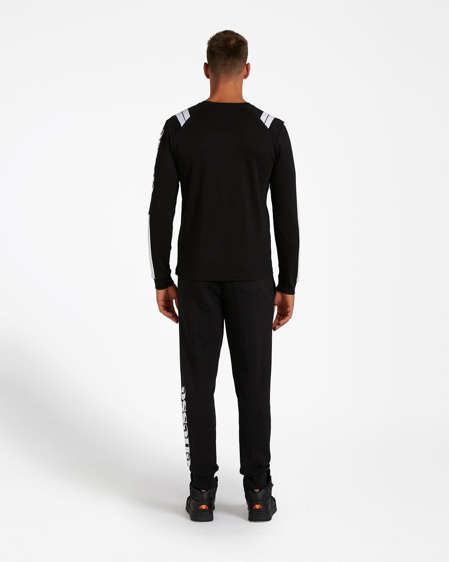 T-Shirt ELLESSE STRIPES M S4081219 scatto 2