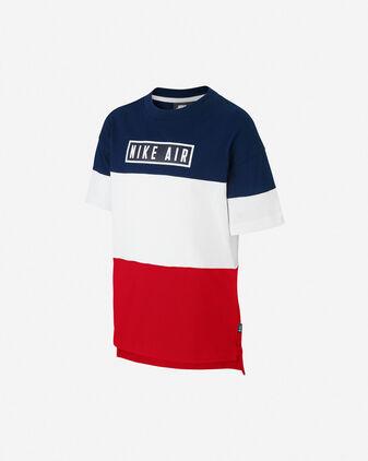 T-Shirt NIKE AIR COLOUR BLOCK JR