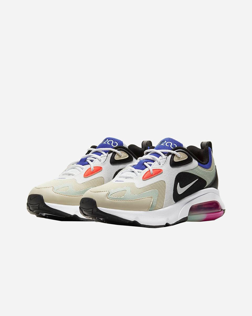 Scarpe sneakers NIKE AIR MAX 200 W S5162239 scatto 1