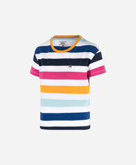 TOMMY JEANS donna TOMMY HILFIGER COLOUR STRIPES W