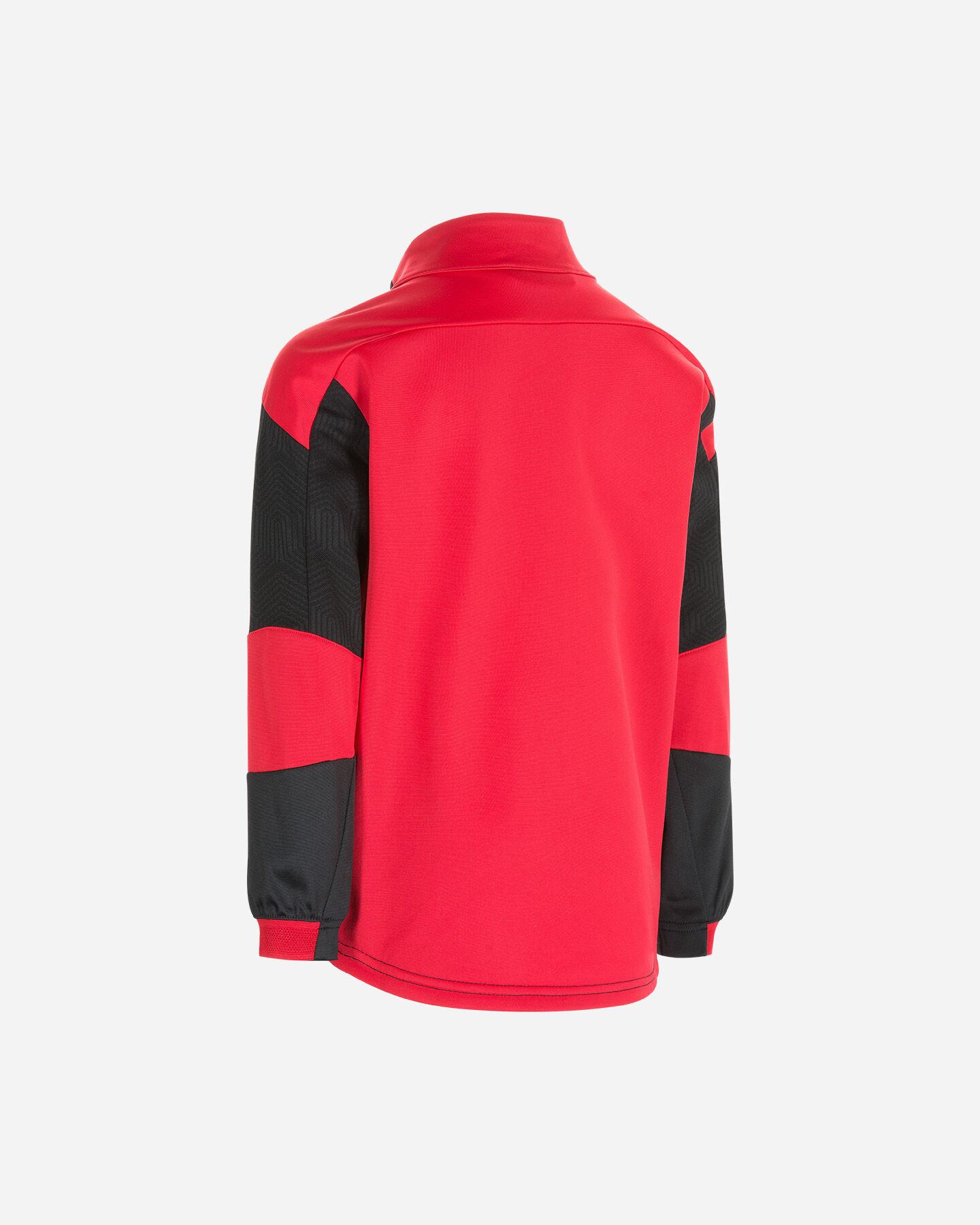 Abbigliamento calcio PUMA MILAN TRAIN ZIP JR S5235850 scatto 1