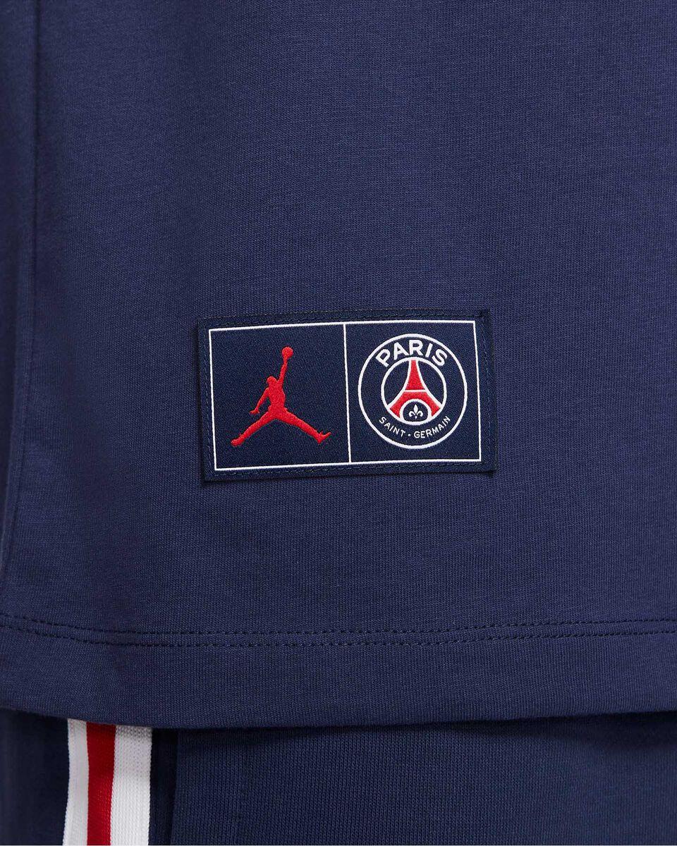 T-Shirt NIKE JORDAN PSG LOGO M S5301878 scatto 2