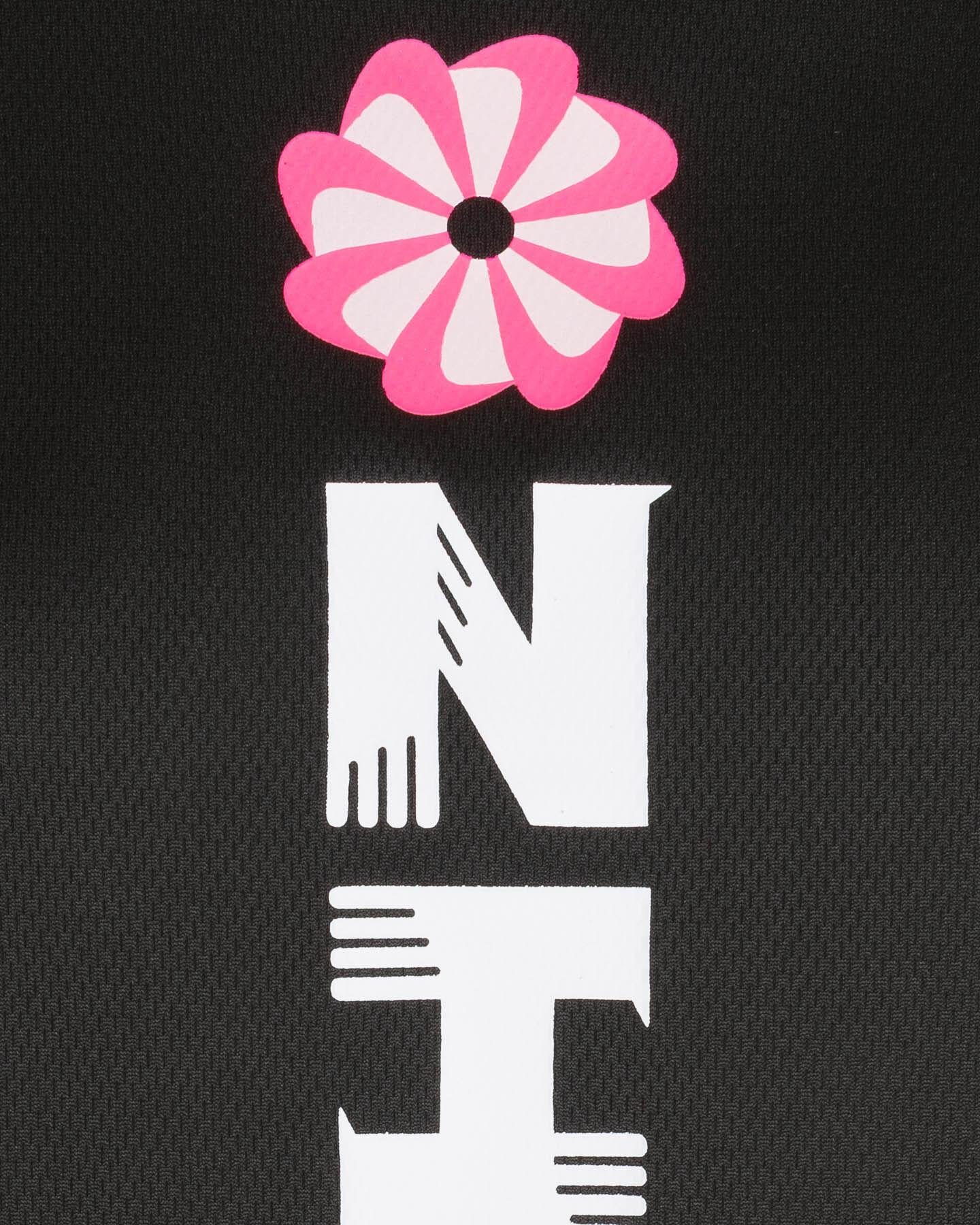 T-Shirt running NIKE SWOOSH RUN NERO W S5225348 scatto 2
