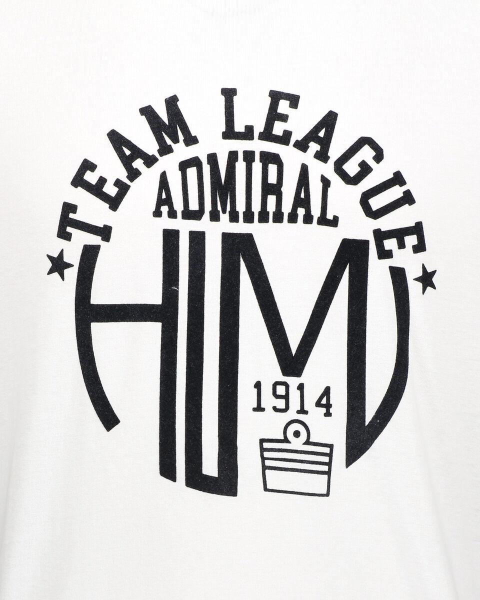 T-Shirt ADMIRAL MC VARSITY M S4080638 scatto 2