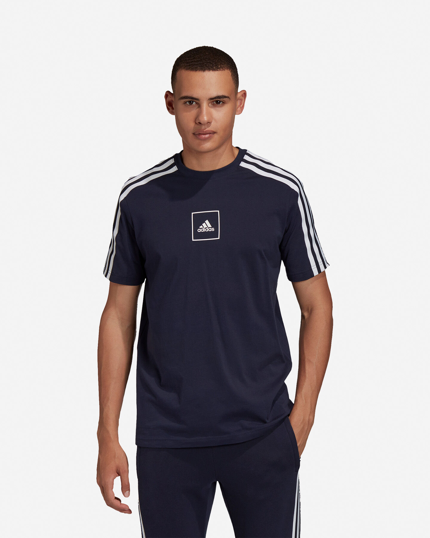 T-Shirt ADIDAS 3S TAPE M S5217933 scatto 2