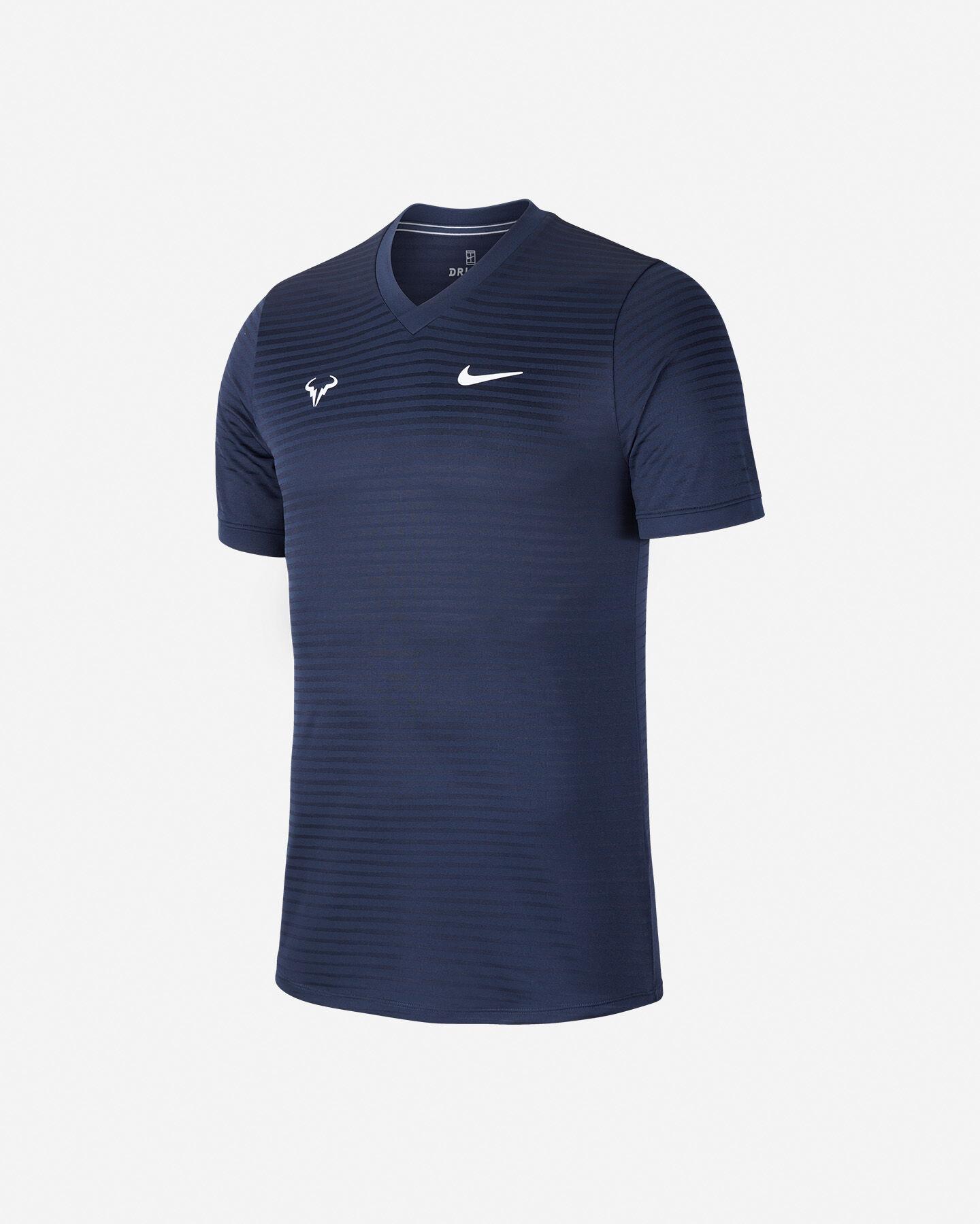 T-Shirt tennis NIKE RAFA CHALLENGER M S5195667 scatto 0