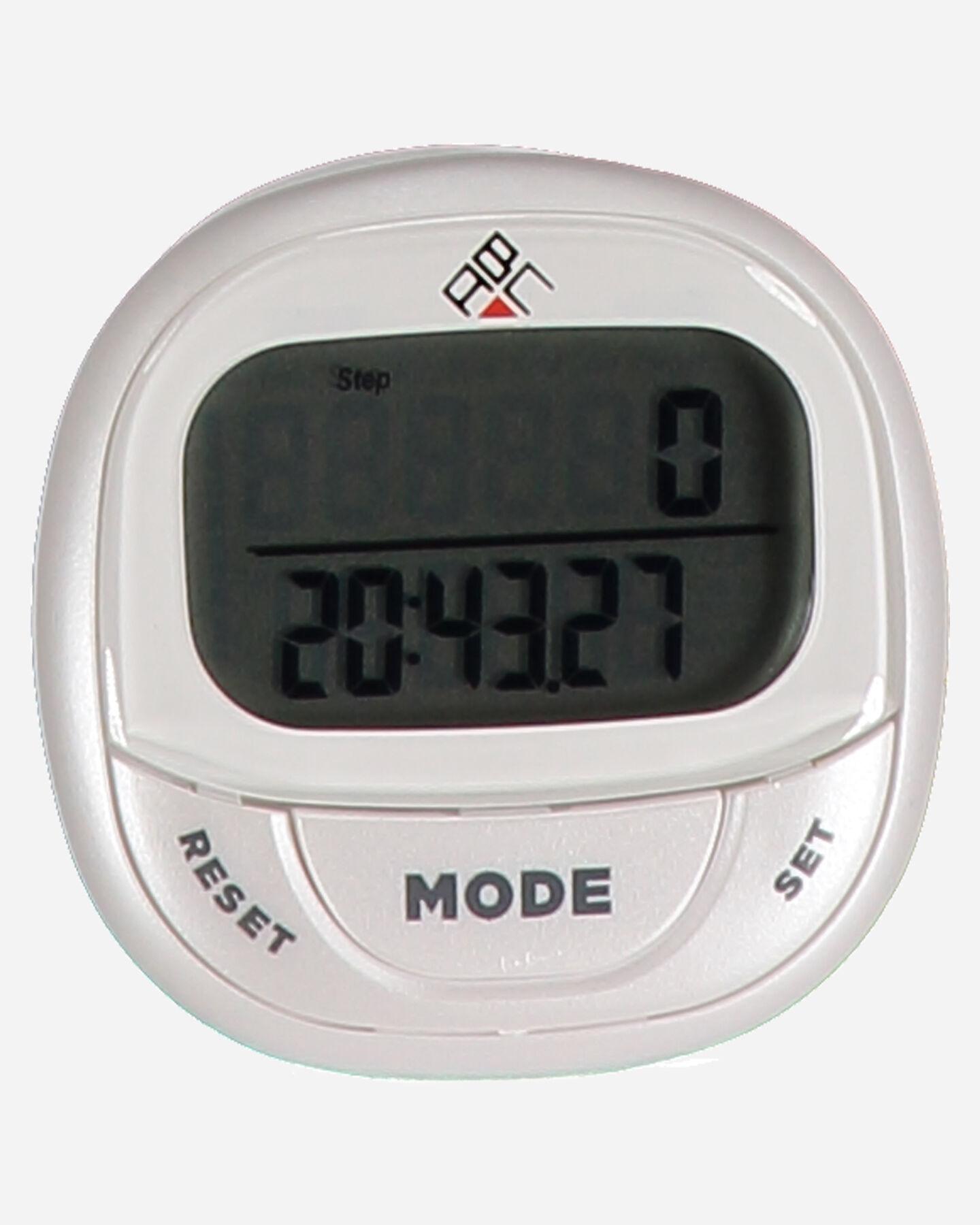 Orologio contapassi ABC PEDOMETRO 3D S4034946|1|UNI scatto 1