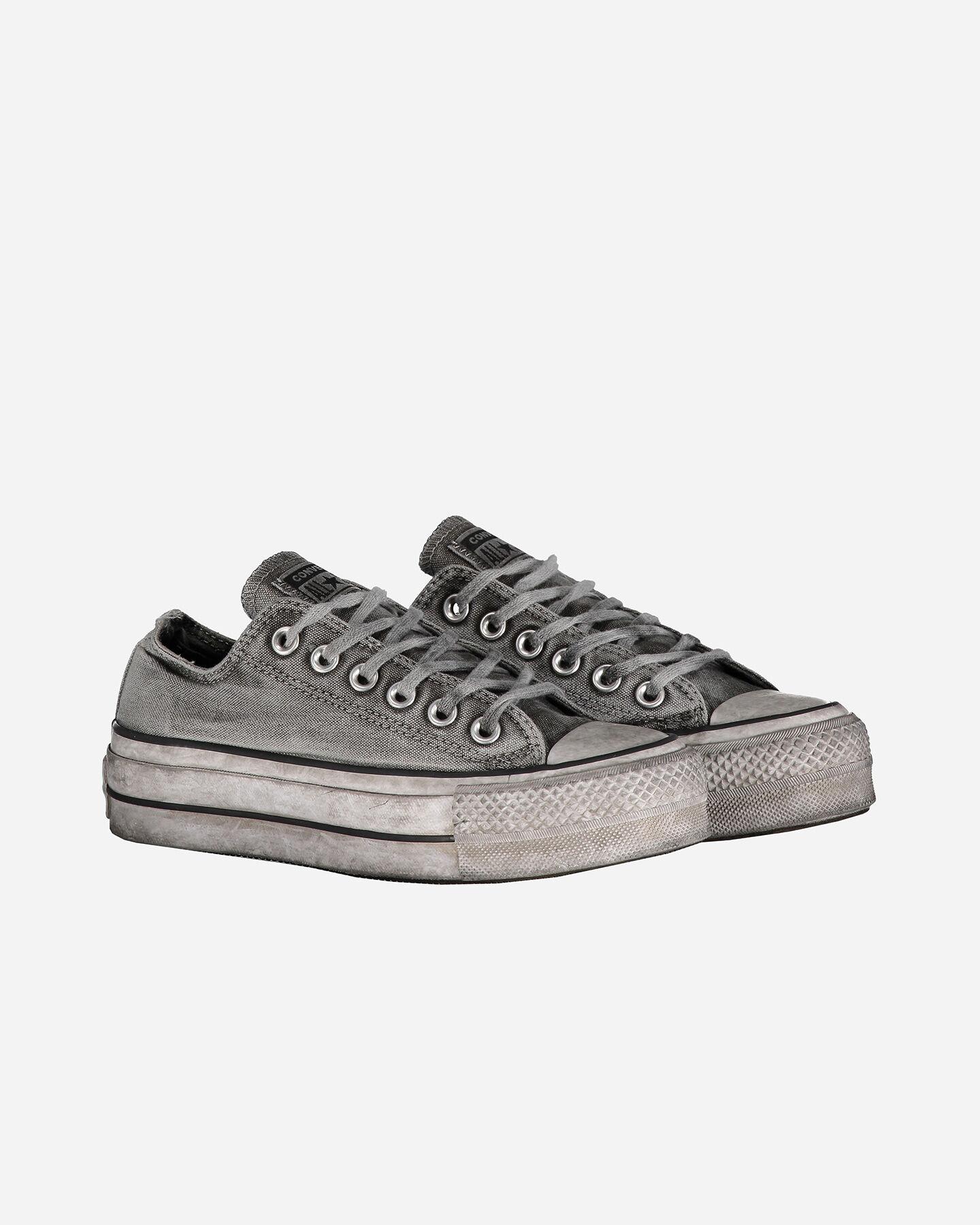 Scarpe sneakers CONVERSE CHUCK TAYLOR ALL STAR OX LIFT W S4062602 scatto 1