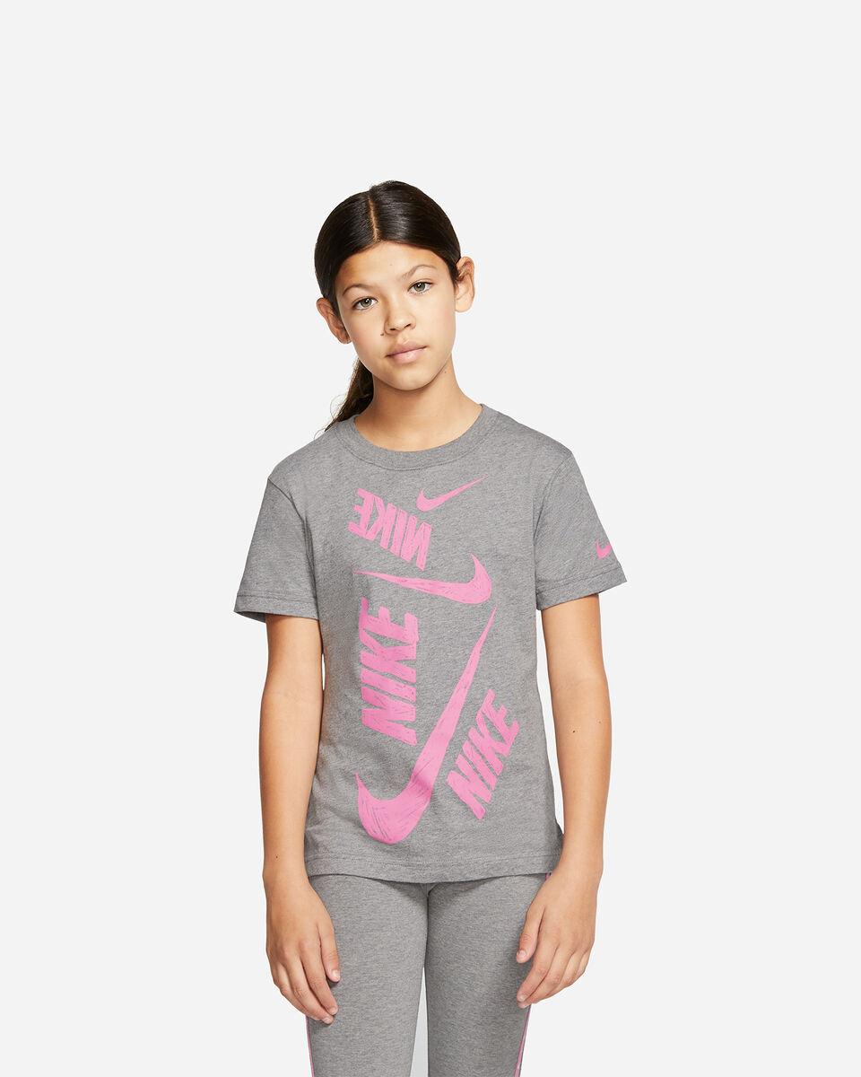 T-Shirt NIKE SWOOSH JR S5165231 scatto 0