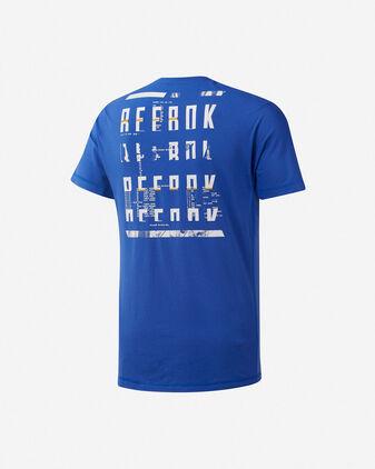 T-Shirt training REEBOK POLY M