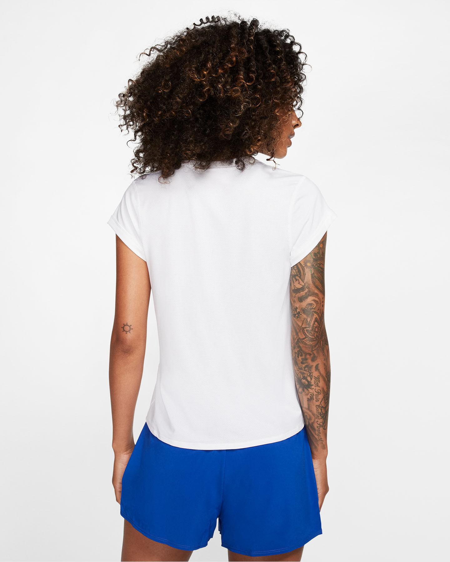 T-Shirt tennis NIKE COURT DRI-FIT W S5164899 scatto 3