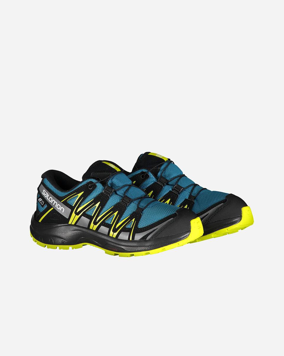 Scarpe trail SALOMON XA PRO 3D CSWP JR S5096799 scatto 1