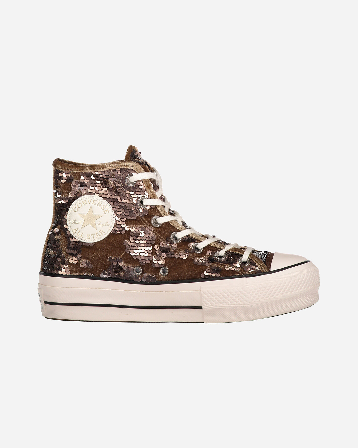 Paillettes W 562777c Sneakers Converse All Star Scarpe Hi Platform f76gIbvYy