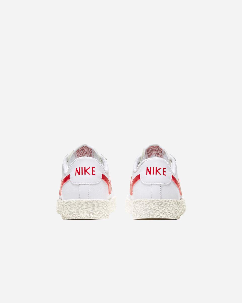 Scarpe sneakers NIKE BLAZER LOW JR GS S5230943 scatto 4