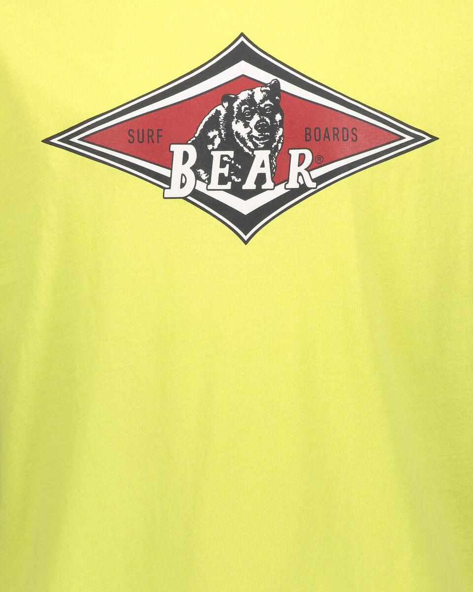 T-Shirt BEAR LOGO ISTITUZIONAL M S4088477 scatto 2