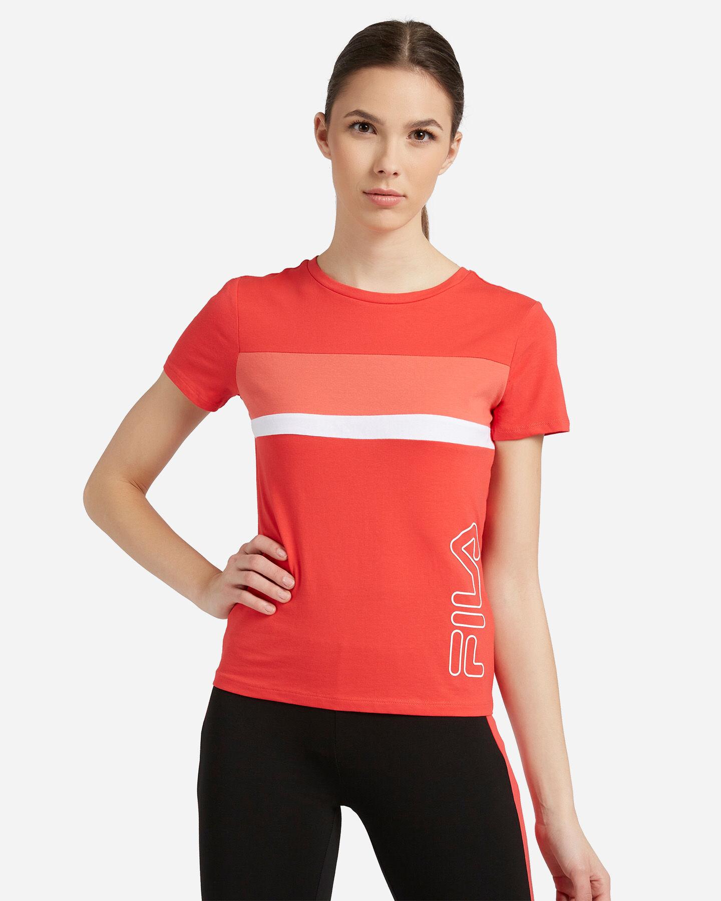 T-Shirt FILA REGULAR COLOR BLOCK W S4089715 scatto 0