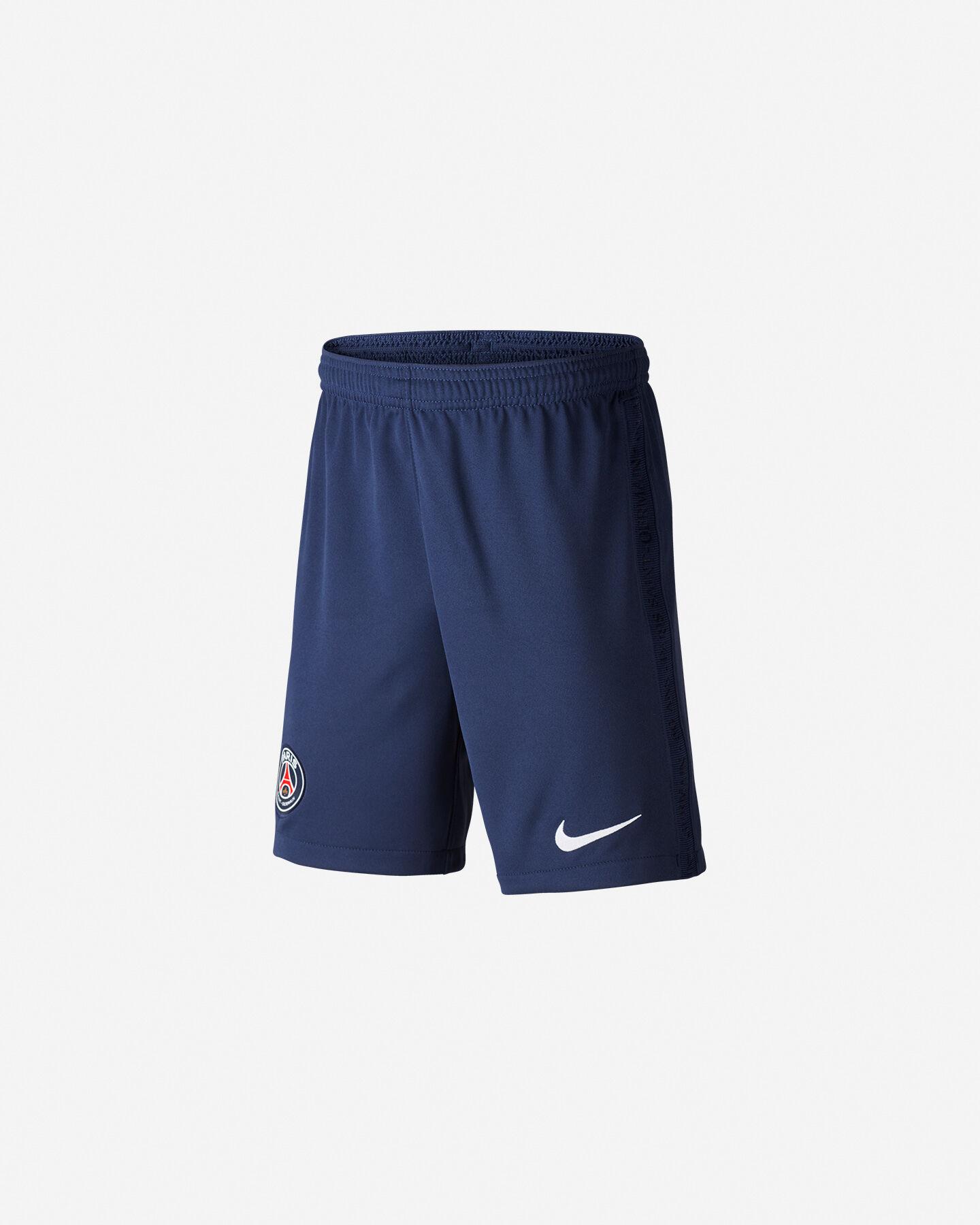 Pantaloncini calcio NIKE PARIS SAINT-GERMAIN HOME 20/21 JR S5195475 scatto 0