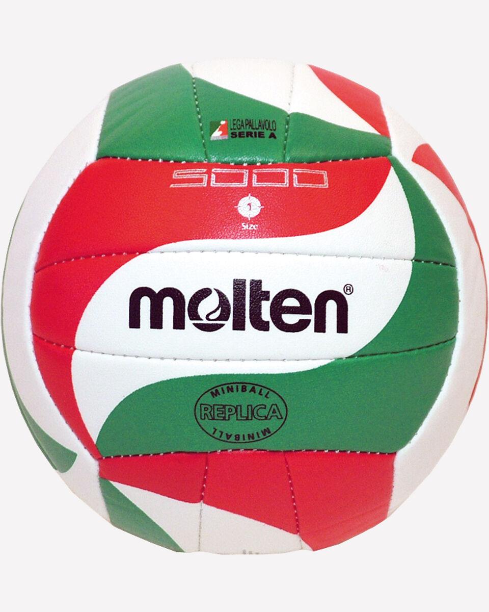Pallone volley MOLTEN 5000 SOFT TOUCH MIS.1 S0584863|1|UNI scatto 1