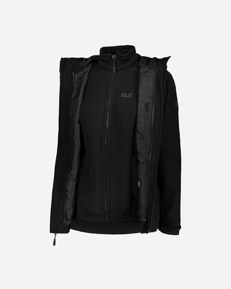 Giacca outdoor JACK WOLFSKIN NORRLAND 3IN1 W