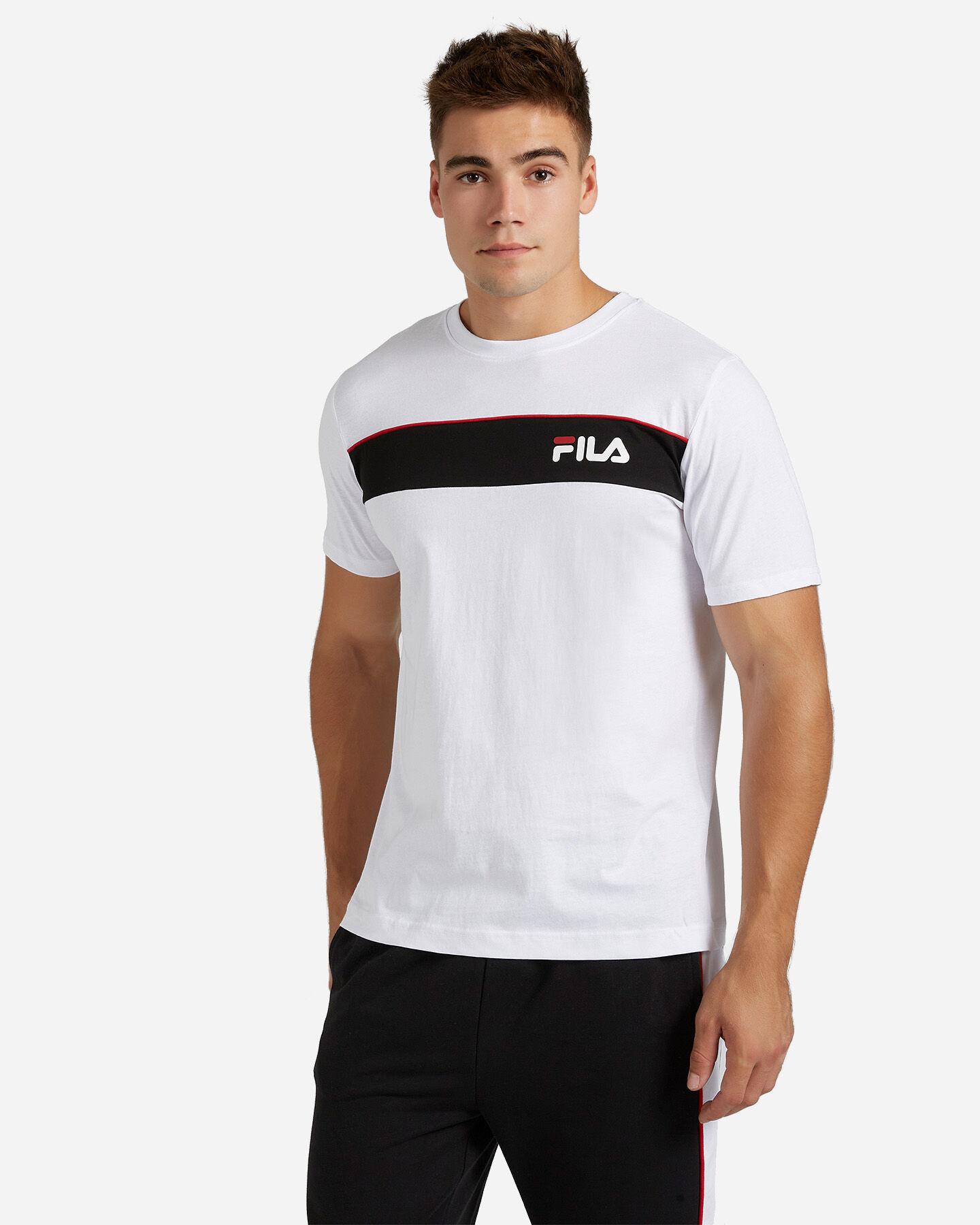 T-Shirt FILA SM LOGO M S4080445 scatto 0