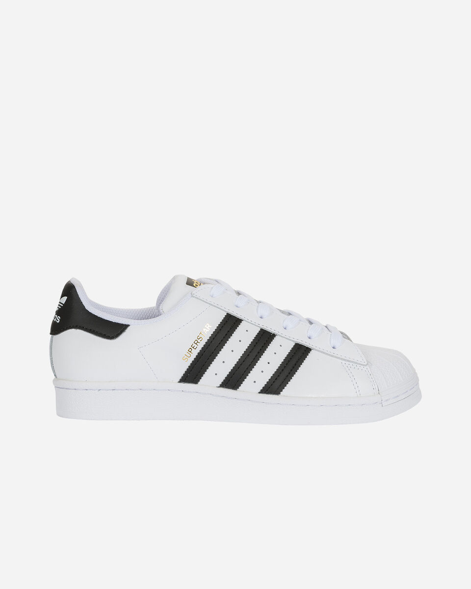 Scarpe sneakers ADIDAS SUPERSTAR GS JR S5150335 scatto 0