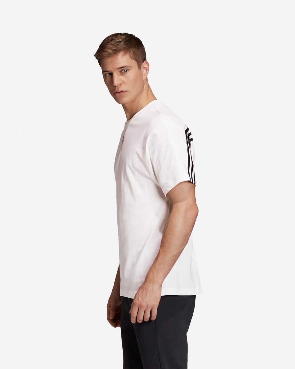 T-Shirt ADIDAS MUST HAVE 3 STRIPES M S5216653 scatto 3