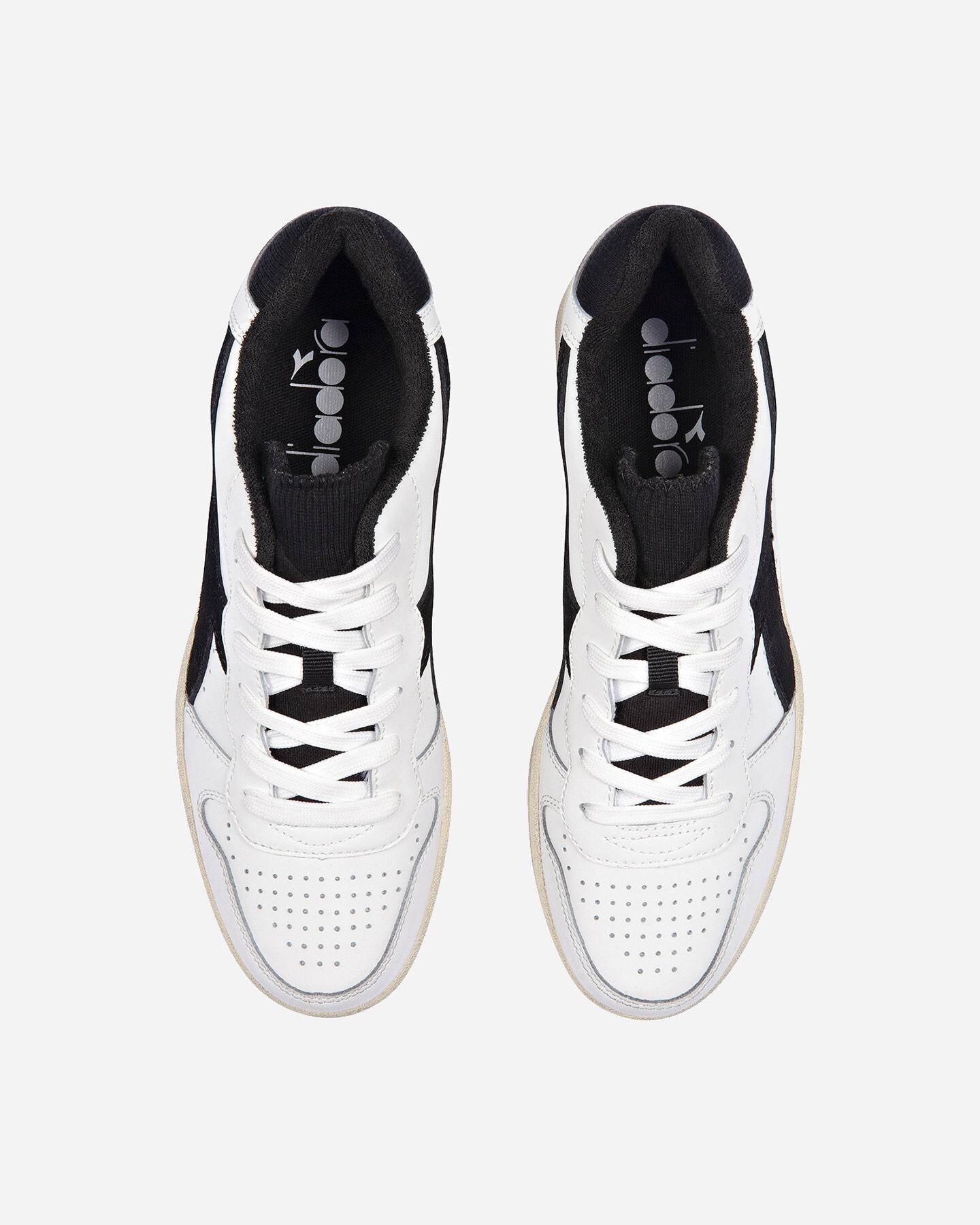 Scarpe sneakers DIADORA USED BASKET LOW M S5171197 scatto 3