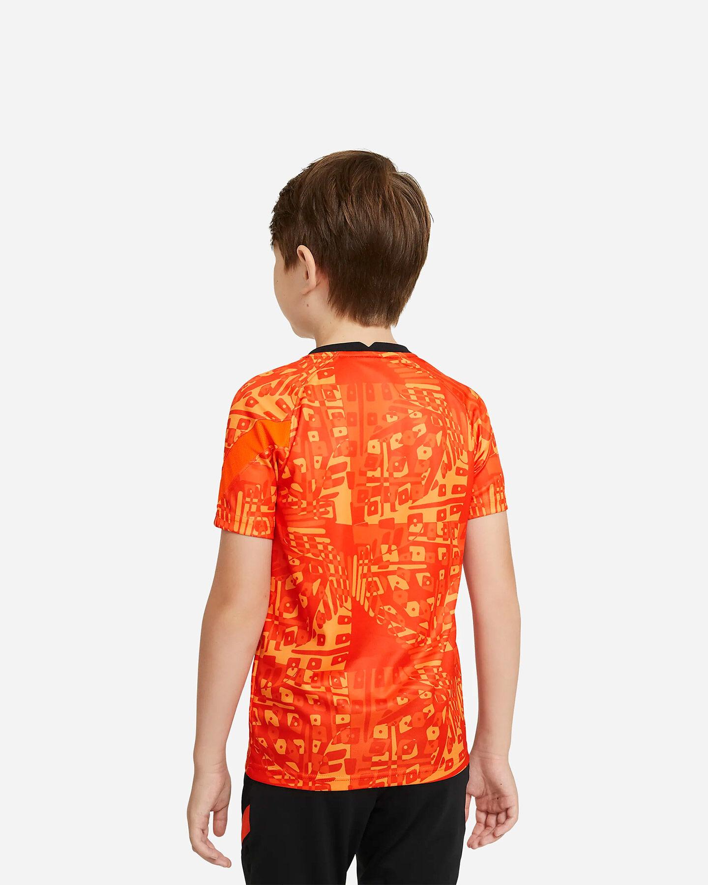 Abbigliamento calcio NIKE ROMA PRE MATCH 20-21 JR S5225158 scatto 1