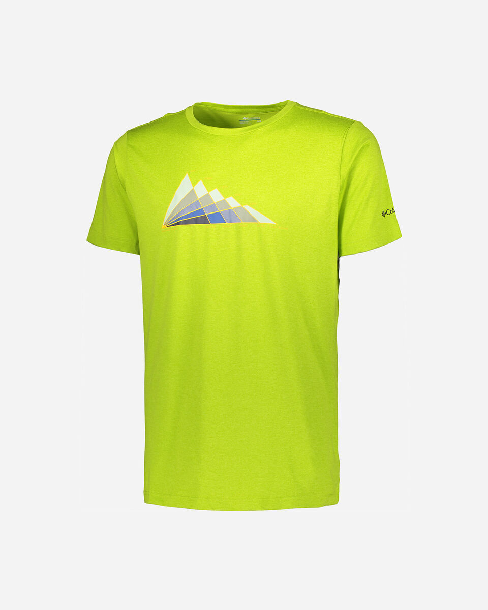T-Shirt COLUMBIA TECH TRAIL GRAPHIC M S5291753 scatto 0