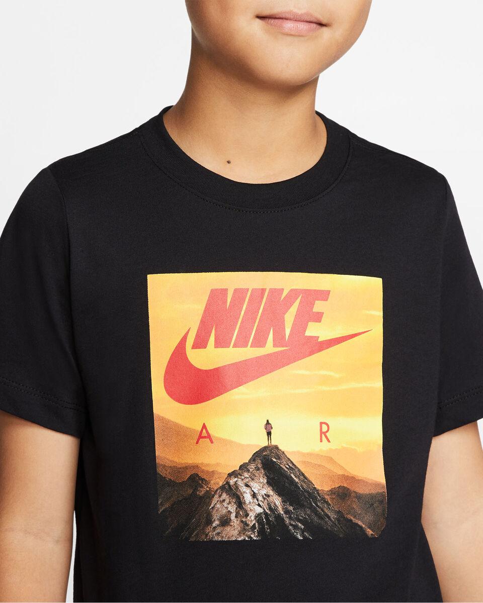 T-Shirt NIKE AIR PHOTO JR S5165058 scatto 4