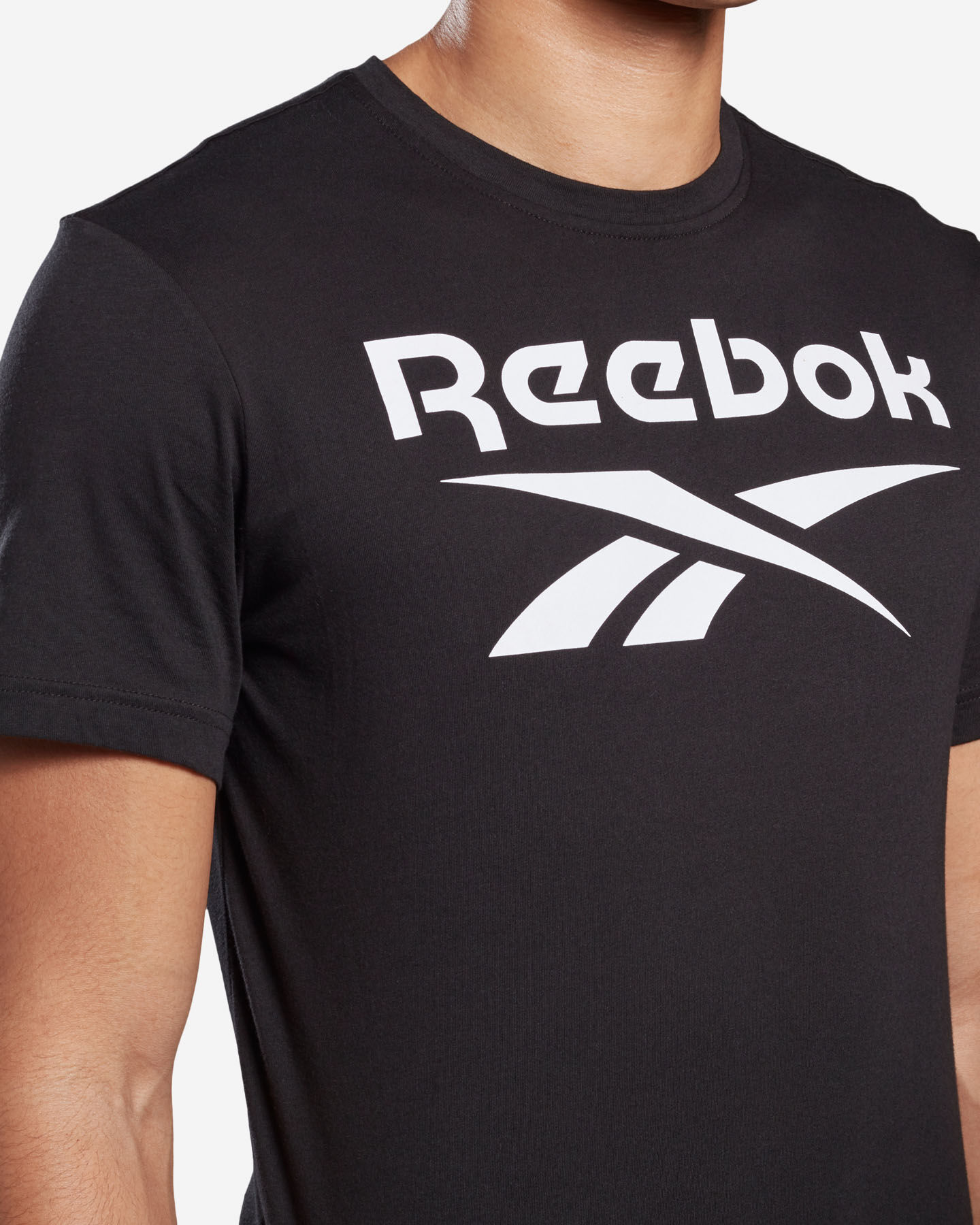 T-Shirt training REEBOK GS STACKED M S5146285 scatto 4