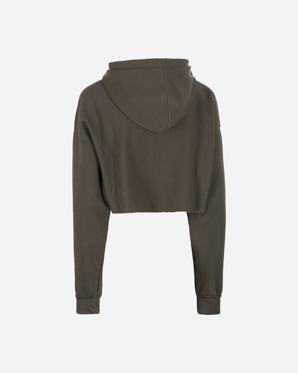 Felpa CONVERSE HOODED CROPPED W S4071543 scatto 1