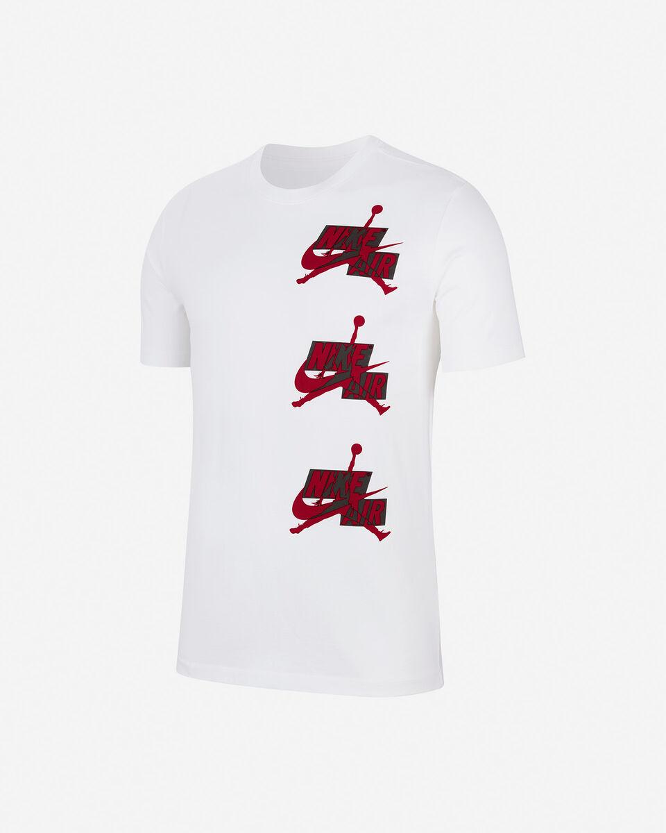 T-Shirt NIKE JORDAN AIR 3LOGO M S5237859 scatto 0