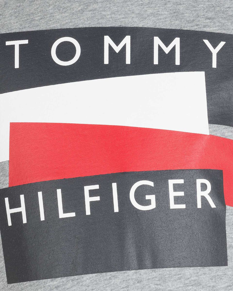 T-Shirt TOMMY HILFIGER LOGO STICKER JR S4083621 scatto 2