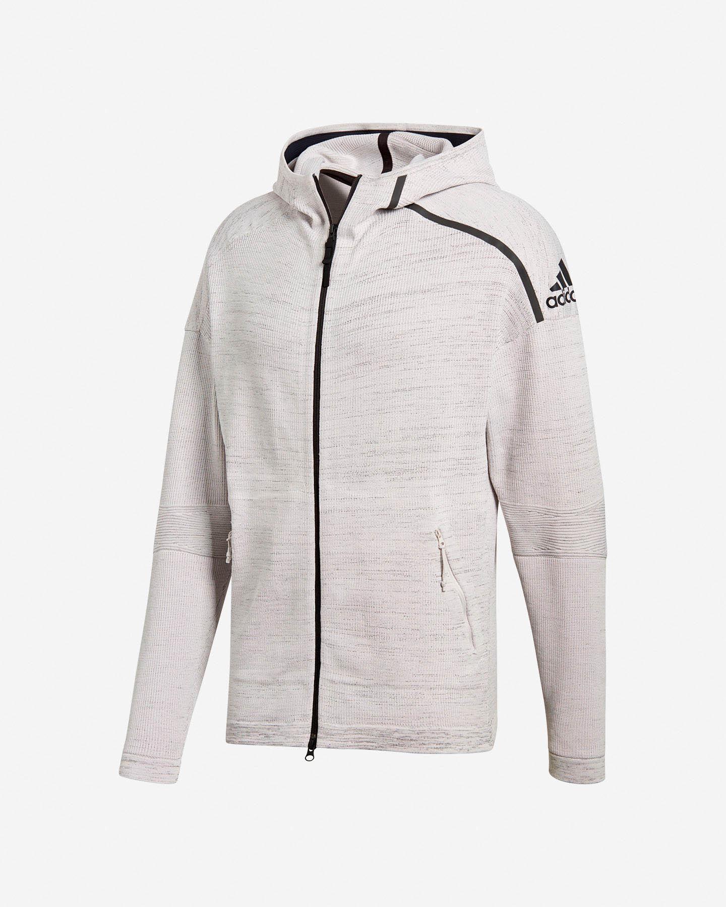 Hood Primeknit Zne Adidas Cf0636cisalfa M Sport 4rlq35ja Felpa m8wNn0