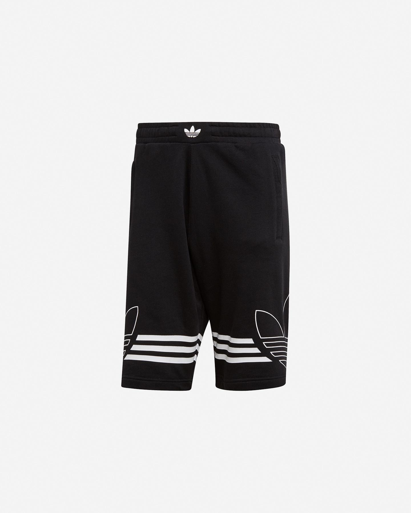 Pantaloncini da Bambino adidas Outlines