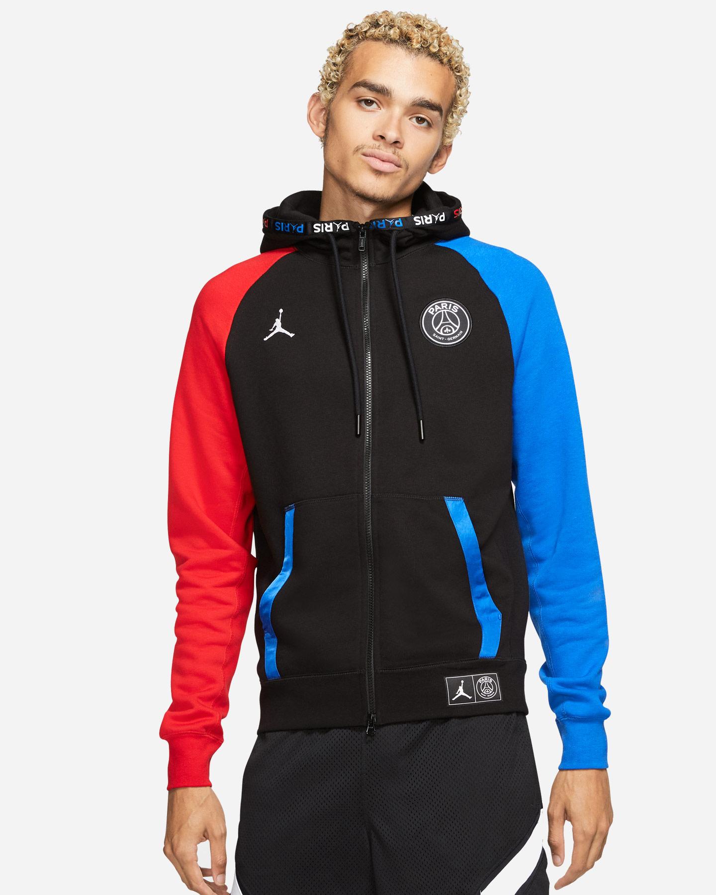 Felpa Nike Jordan Psg Fz M BQ8346-011 | Cisalfa Sport