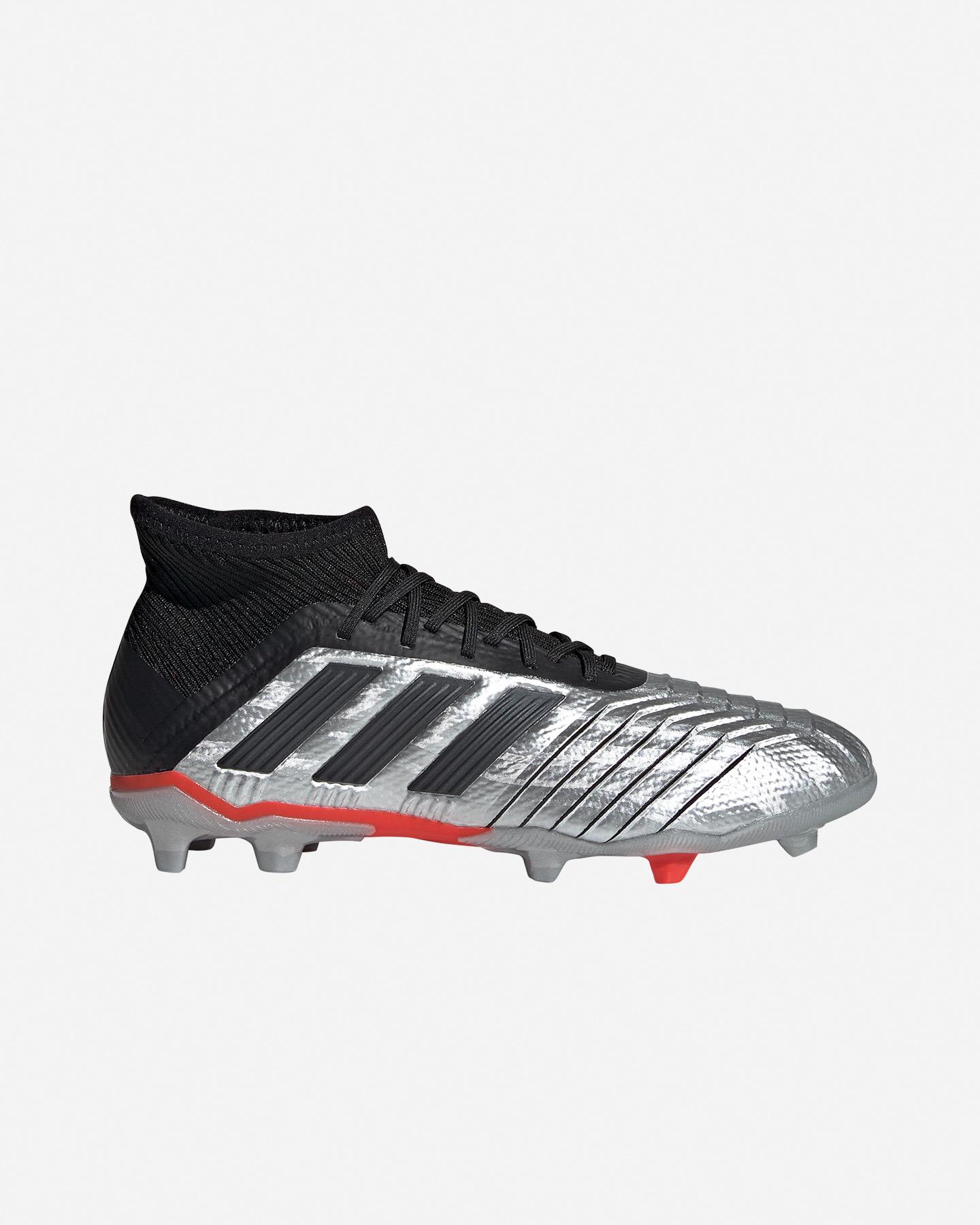 Scarpe Calcio Adidas Predator 19.1 Fg Jr G25790 | Cisalfa Sport