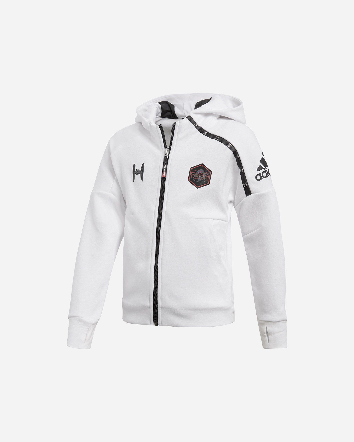 Sport Wars Felpa Cisalfa Star Adidas Hoodie Jr Cw0757 Su UC1qx6
