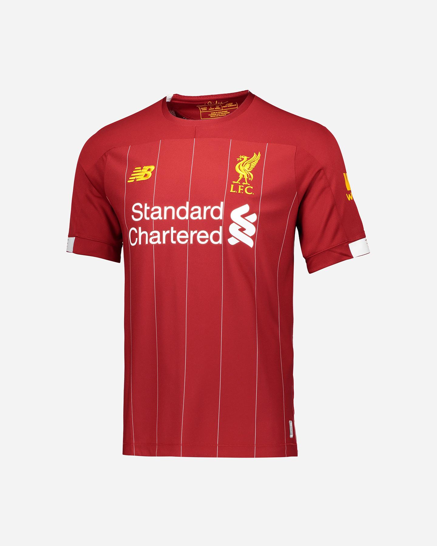 Maglia Calcio New Balance Liverpool Home 19-20 M NBMT930000HME ...