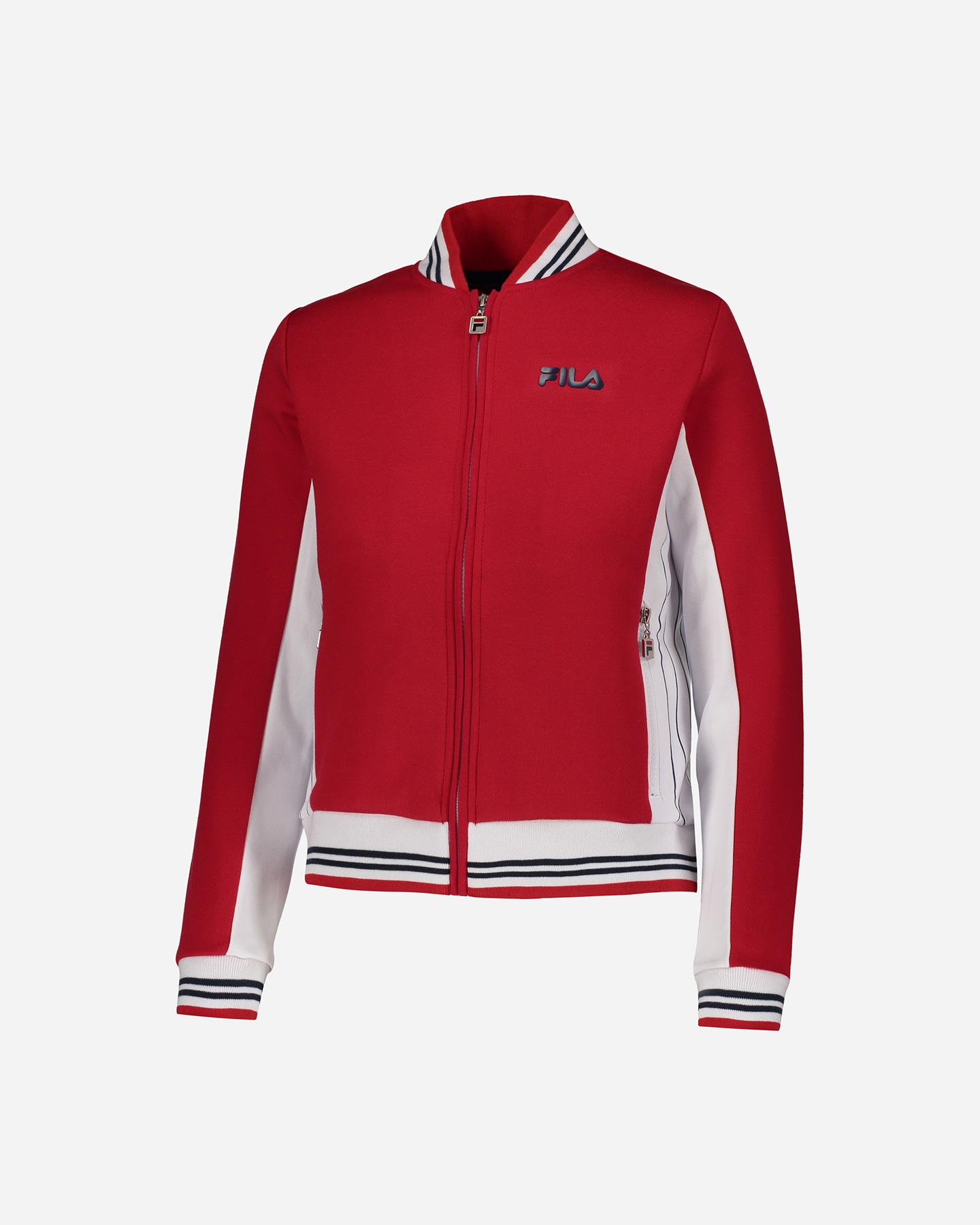 Asino Guinness Umido  Felpa Fila Fz Short Sweatshirt W FW250S18-270 | Cisalfa Sport
