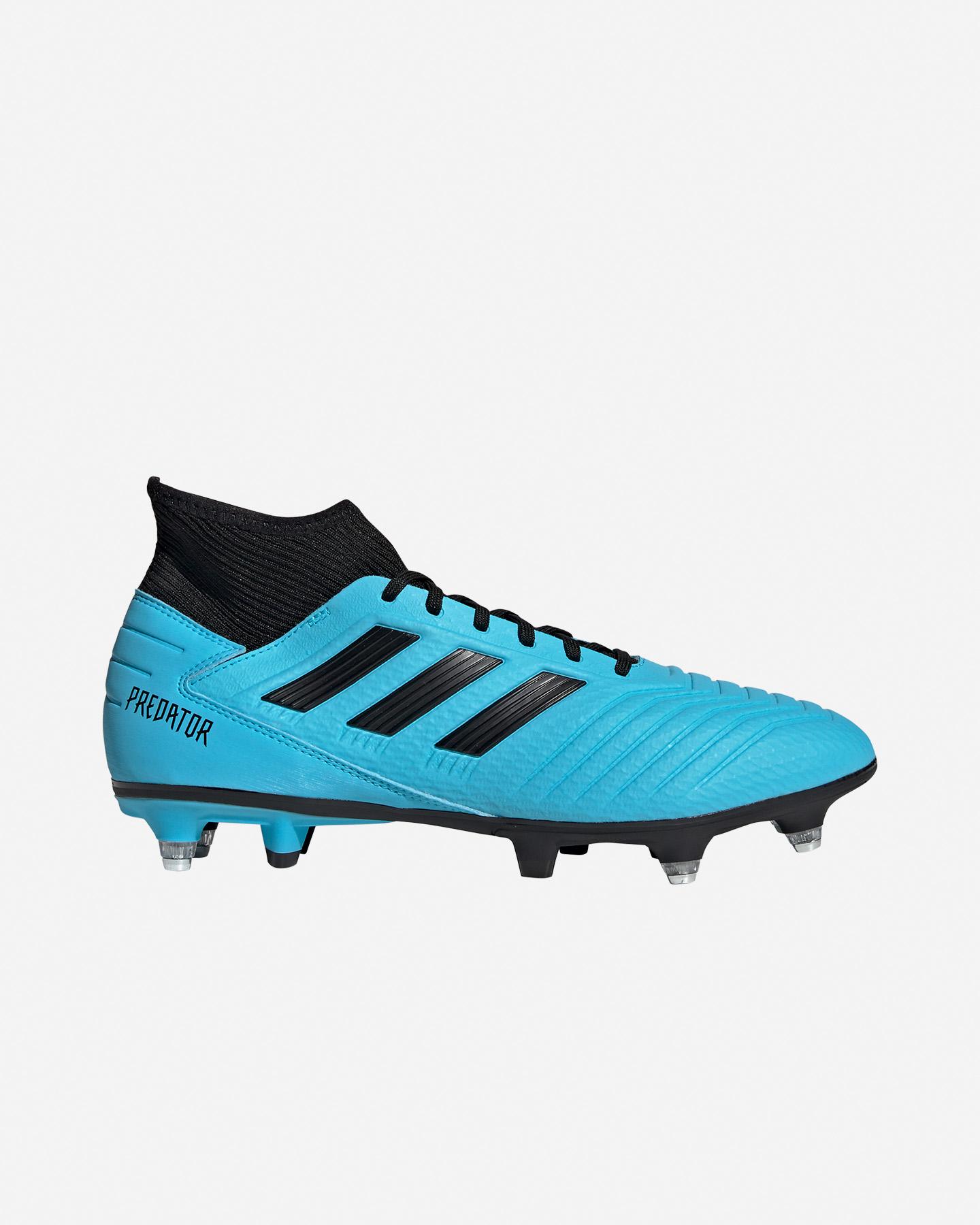 adidas Scarpe Calcio Adidas Predator 19.1 Fg Archetic Pack Taglia: 42 Colore: Nero