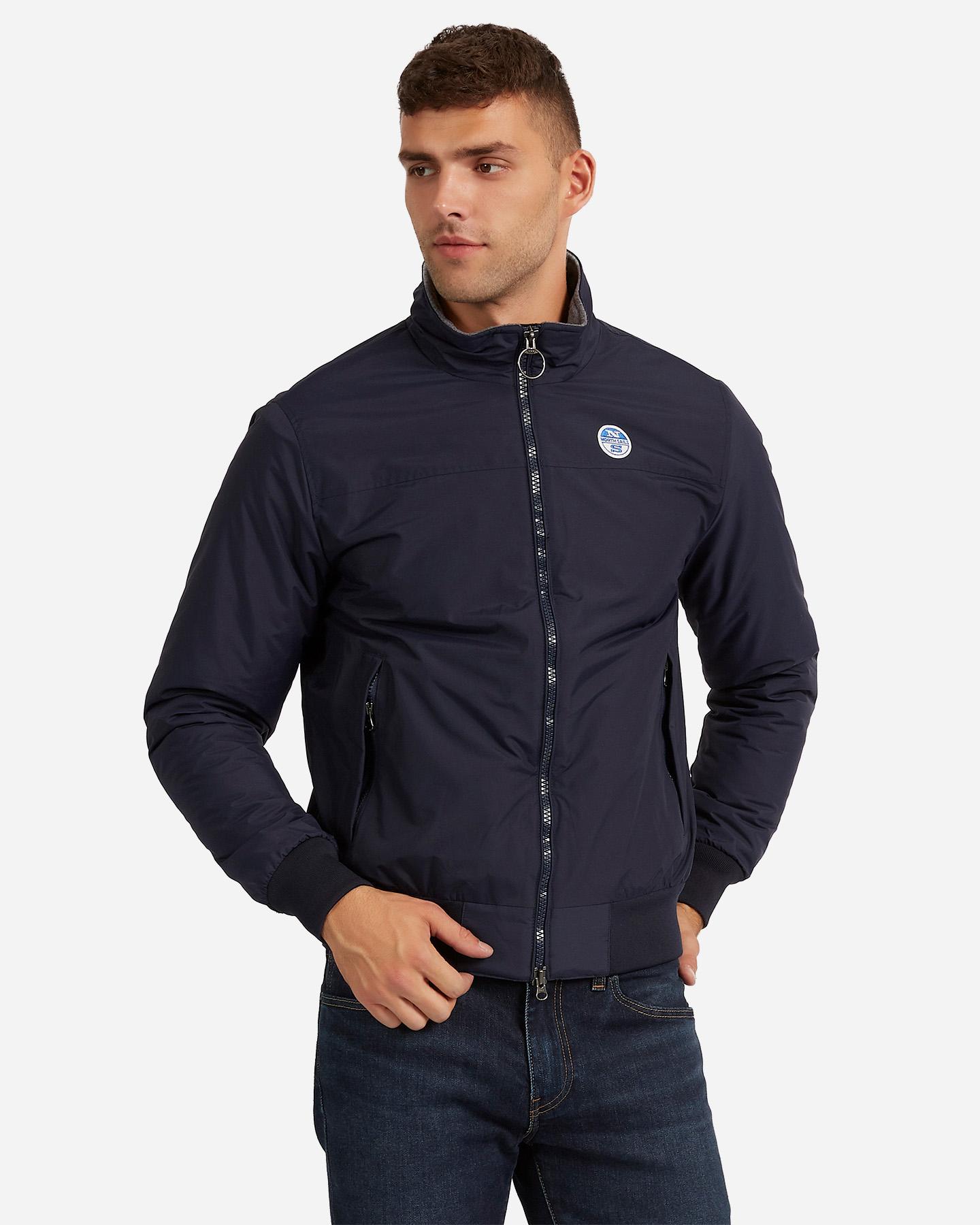 north sail slim uomo giacca