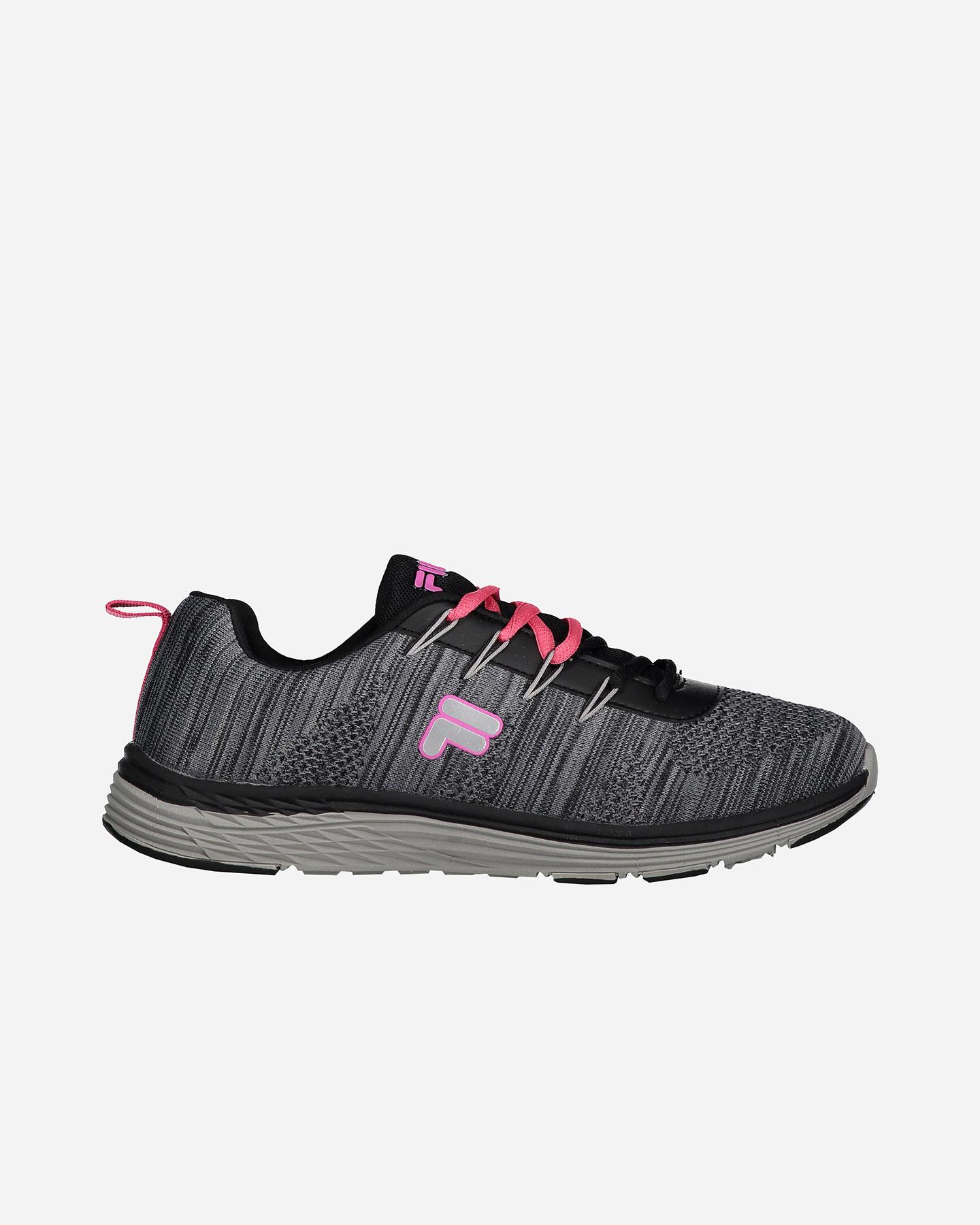 ad93e6ed30c93b Scarpe Sneakers Fila Butterfly Ii W S1706-BLK/PIN | Cisalfa Sport