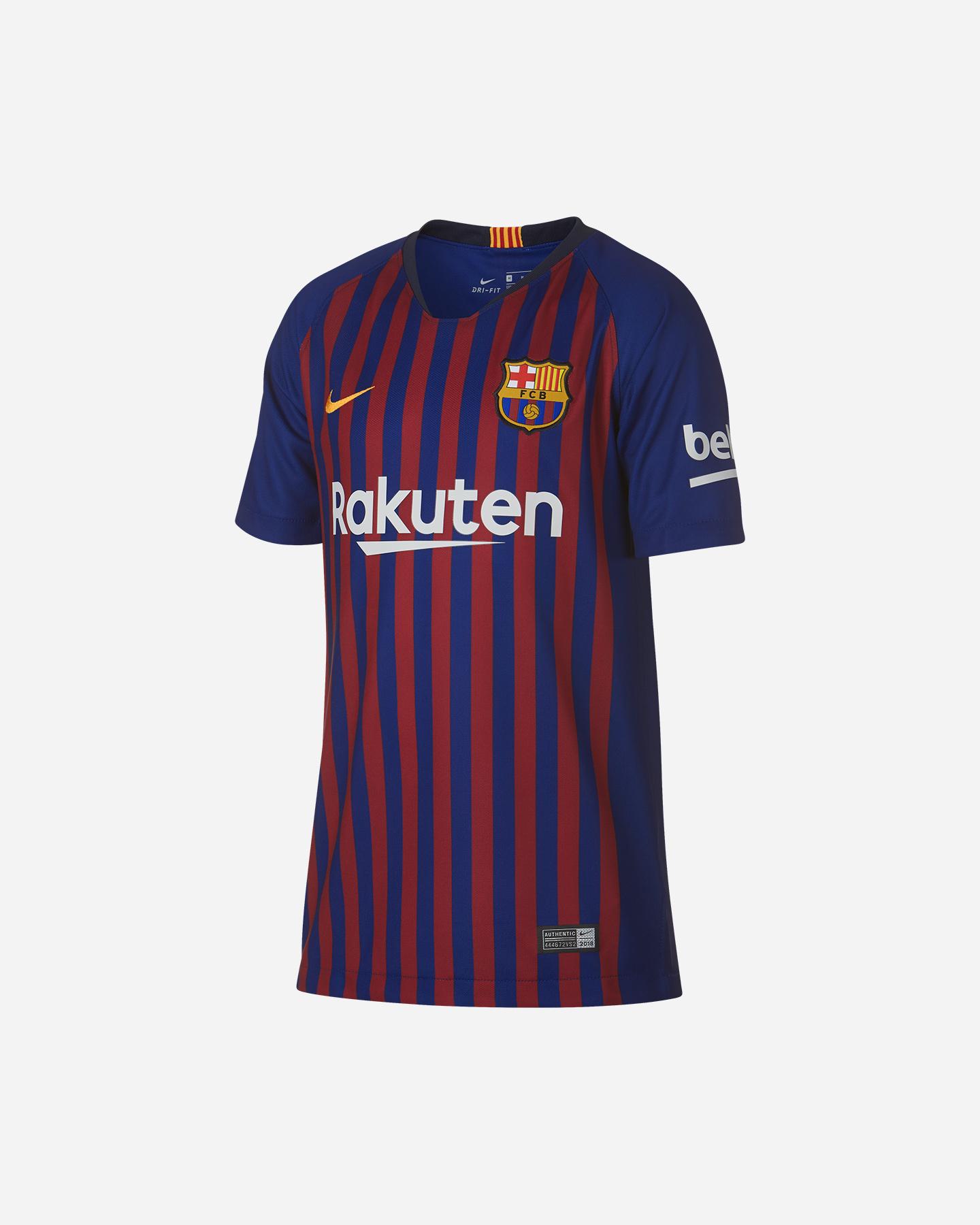 Su 894458 Maglia Cisalfa 19 Home Nike 456 Jr Barcellona 18 Calcio xHUfpPSq