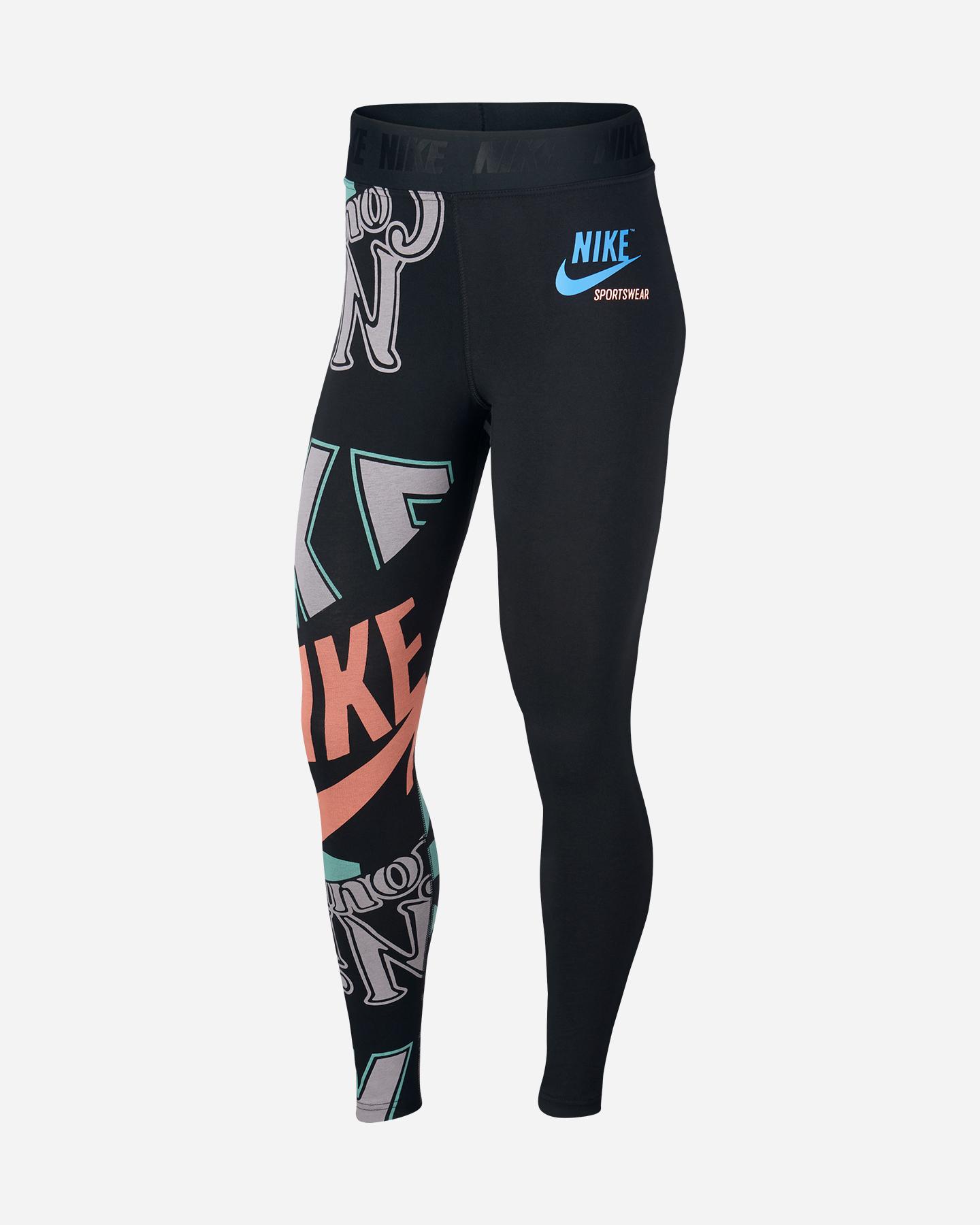 nike donna leggings crossfit  Nike Sportswear Idj W AQ3586-010   Leggings su Cisalfa Sport